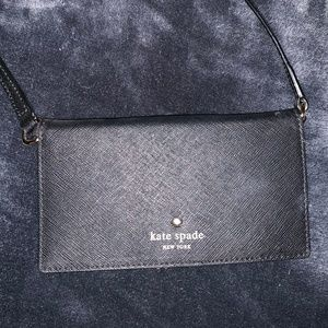 Small Black Crossbody Purse/Phone Holder